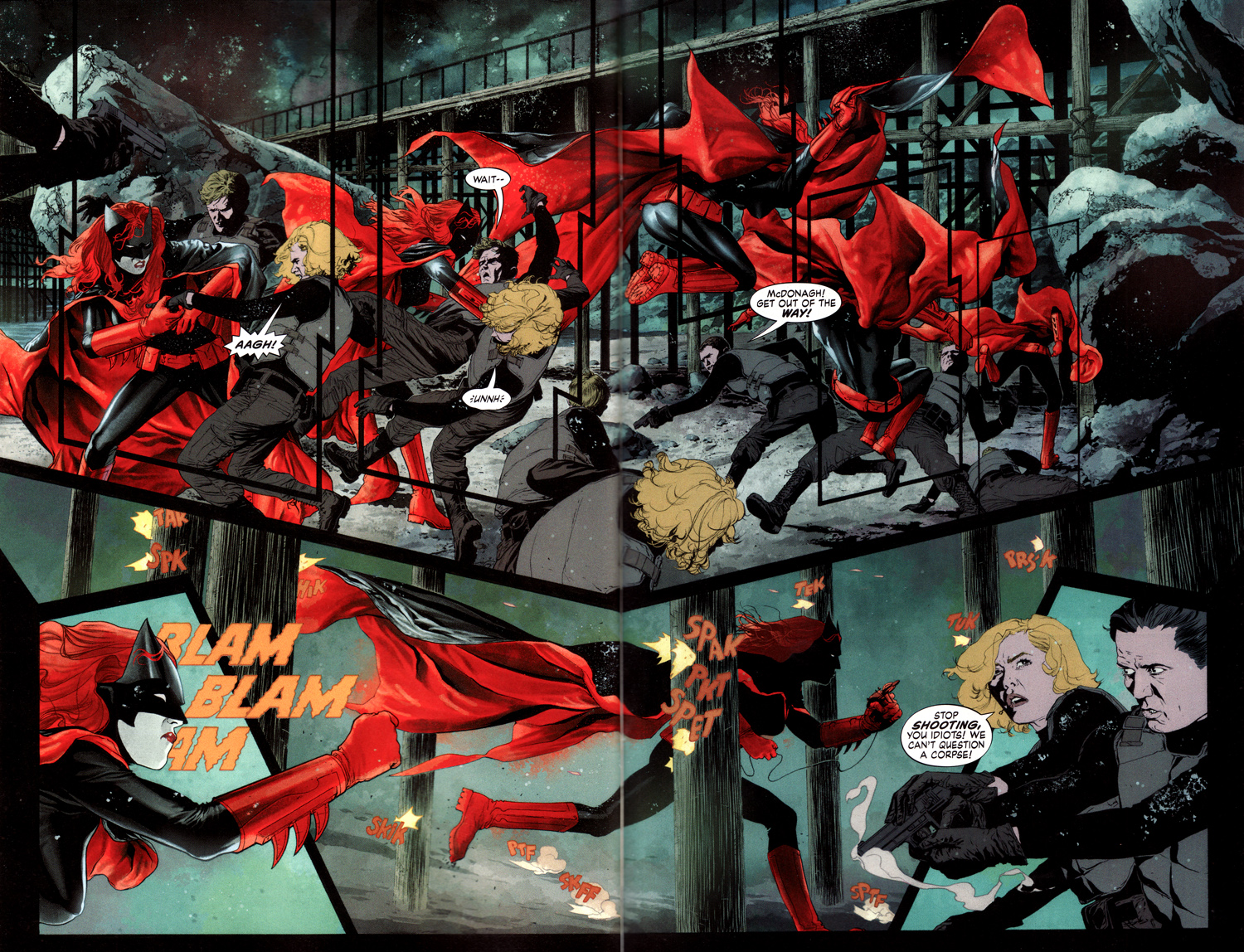 Batwoman New 52 Issue 1 Read The New 52 Batwoman